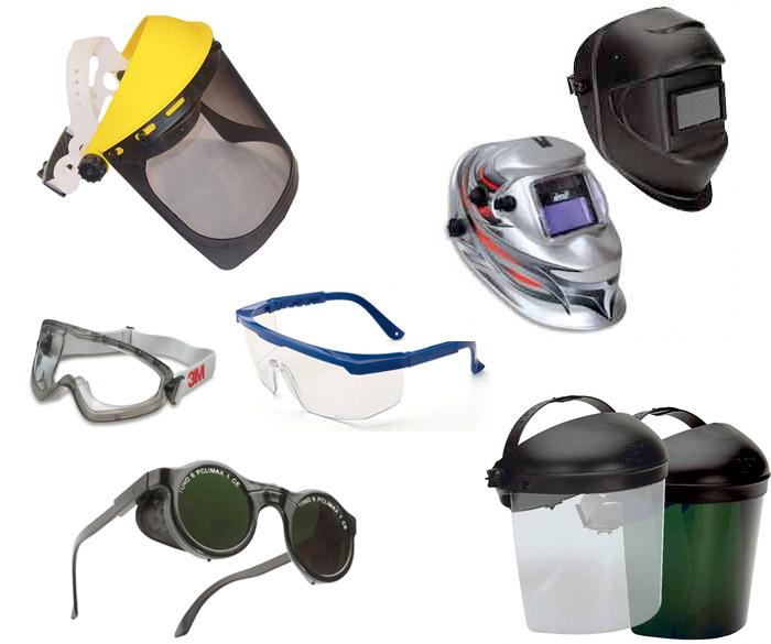 Protección visual vestuario
