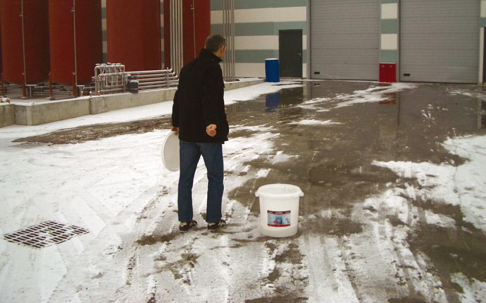 Derretidor hielo y nieve