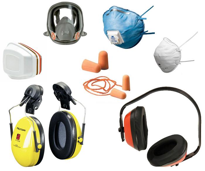 Protección auditiva y respiratoria